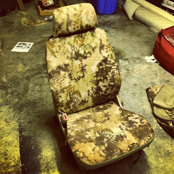 on some marathon super hide seat covers chose kryptic highlander cami
