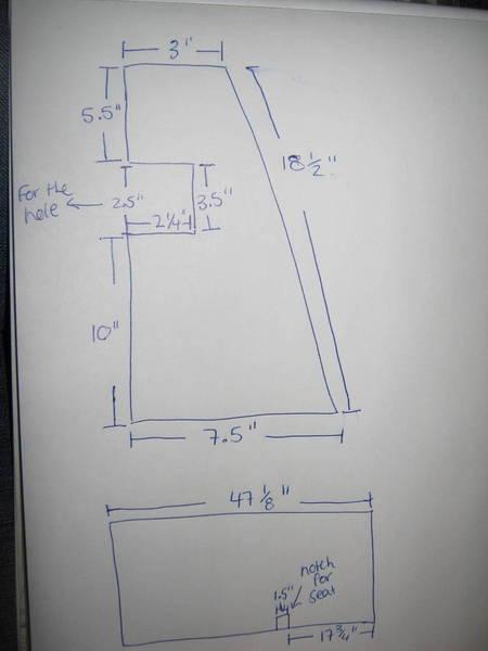 sub box dimensions