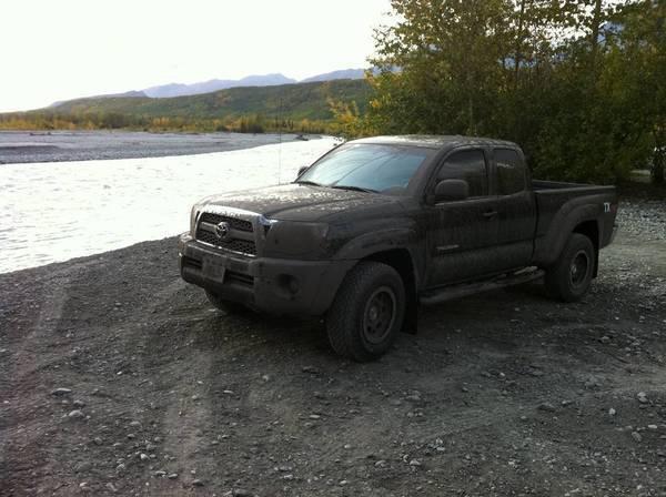 2011 Tacoma TRD TX Black
