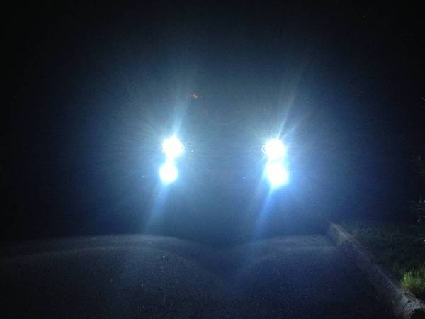 HID 8000k w Halo and Fog Lights HID 8000k