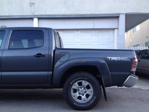 bent tacoma - side