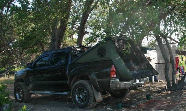 A Tent That Would Work With My Tonneau Cover Tacoma World