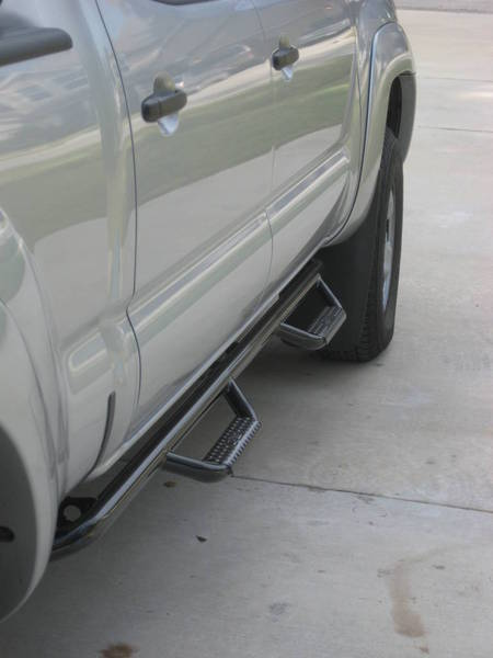 Which Step Nerf Bars Did You Install On D Cab Tacoma