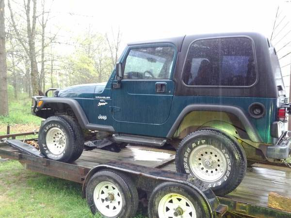 New to jeep world 97 39 wrangler sport huntsville al for Garage jeep luxembourg