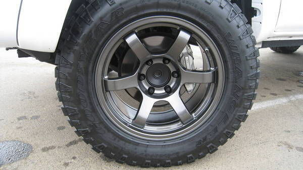 FN BFD wheels wrapped in Goodyear DuraTrac 275/65R18