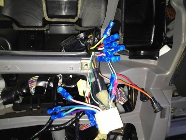 WTF - 4Runner Dash Wiring 2