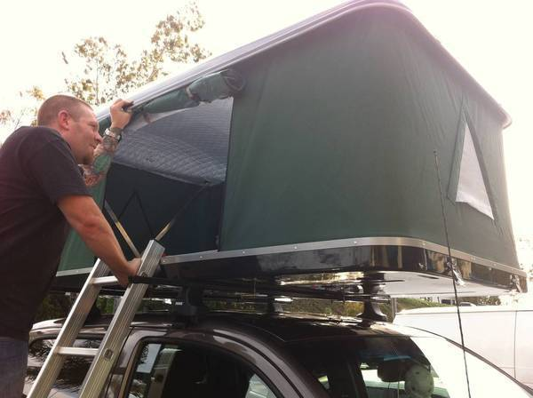New Bigfoot RRT Roof Top Tent