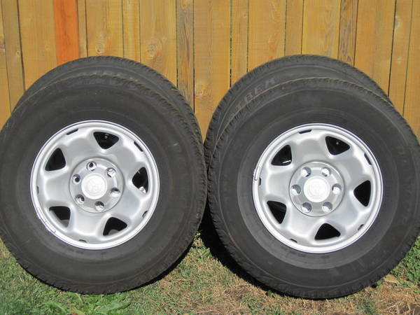 Stock Steel Wheels