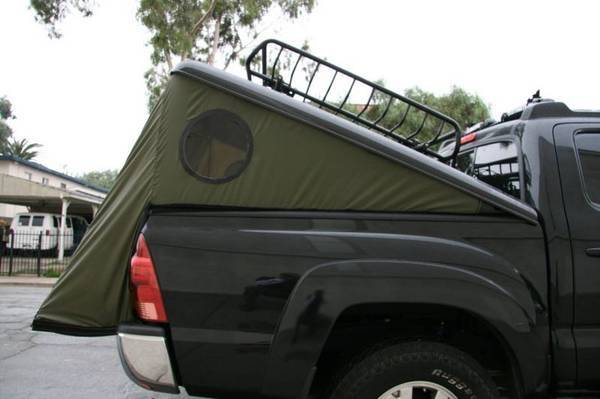 Anyone ever seen a tent like this? Iu0027m guessing no since this guys is custom made but just curious. & Tonneau Tent | Tacoma World