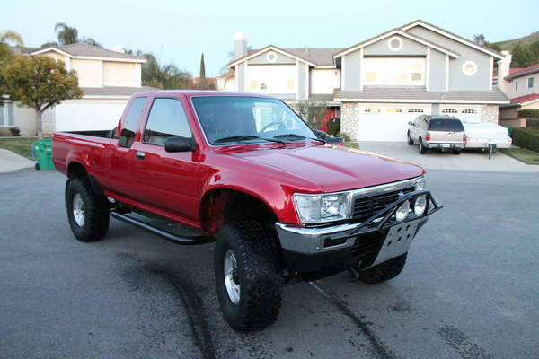 1991 Toyota SR5 Xtra Cab 4x4 for sale   $5,900 00 | Tacoma World