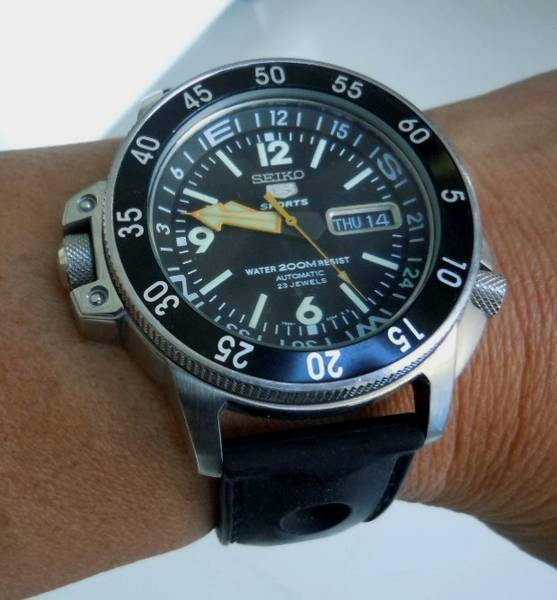 My super tough Seiko Diver 'Shark' watch