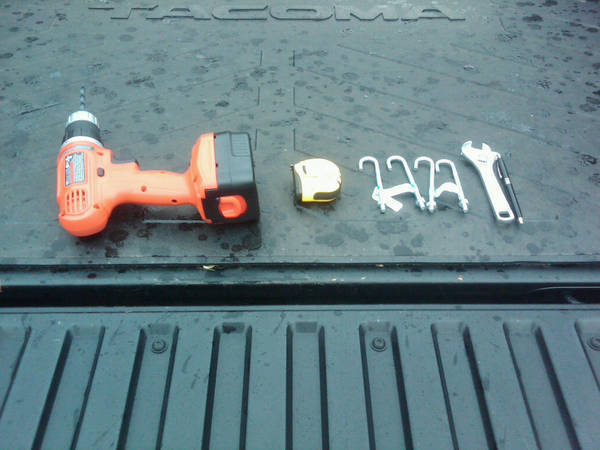 how to install a truck tool box with j hooks 1