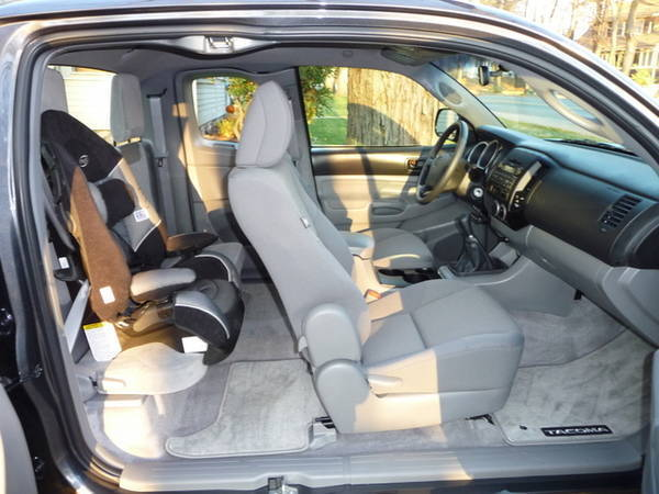 Best Car Seat For Toyota Tacoma Access Cab