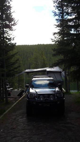 Tacoma Camping
