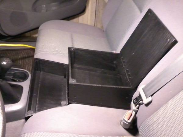 Plywood Armrest Console Box And Tray For 2nd Gen Reg Cab