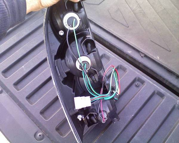 1997 toyota corolla tail light wiring harness   45 wiring