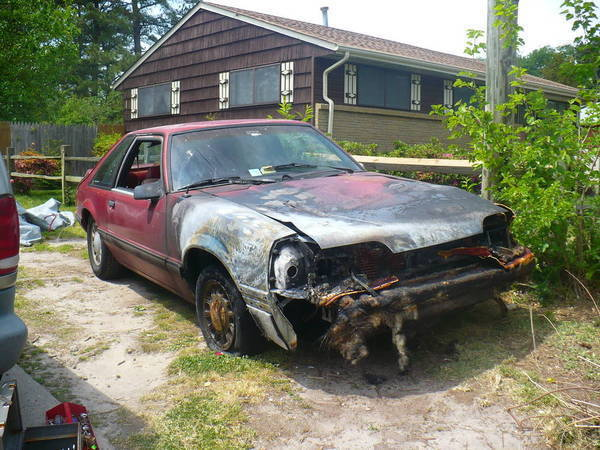 1990 Mustang LX- Exploded