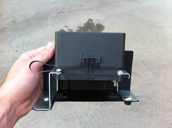 Custom Fuse Relay Box : Bussmann fuse relay block with custom bracket box