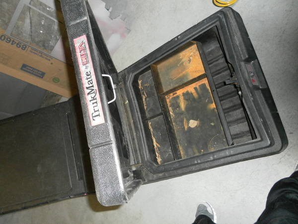 Fs Delta Truck Mate Black Abs Plastic Tool Box