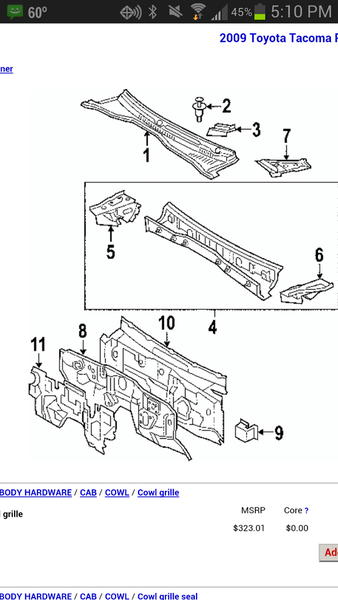 toyota tacoma belt routing diagram