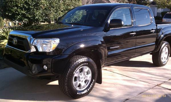 2012 Tacoma TRD Offroad 4x4 Black