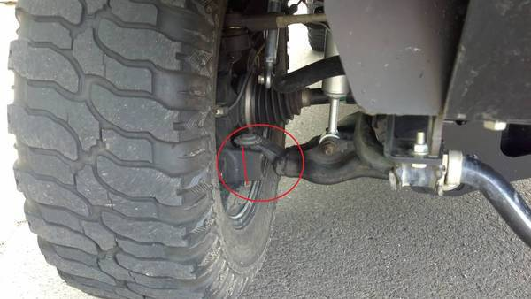 Terrible Turning Radius After 6 Quot Fabtech Install