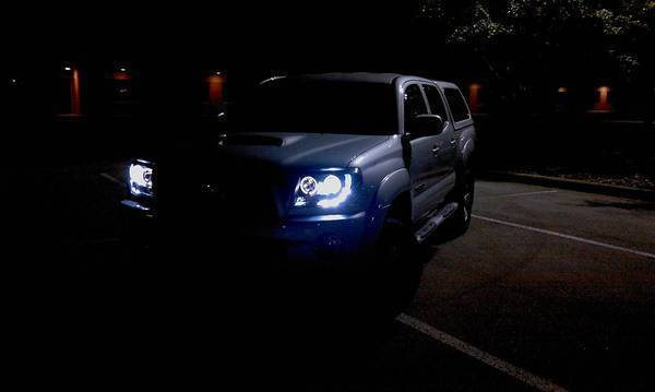 Discussion: Toyota Tacoma LED Halo Projector Headlights - Black | Page 5 | Tacoma World