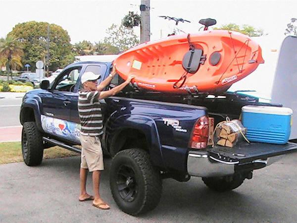 Custom Kayak Canoe Bed Rail Rack Yes Or No Tacoma World