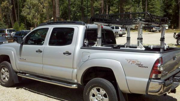 threads tacoma truck thule rack xsporter world