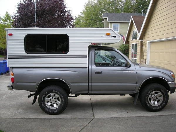 Used Slide In Camper For Toyota Tacoma Autos Post