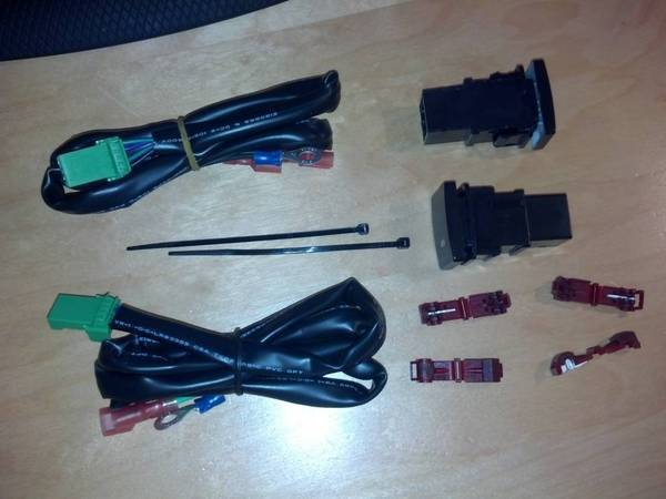 TundraPart switches (2) and what you get for $110.00