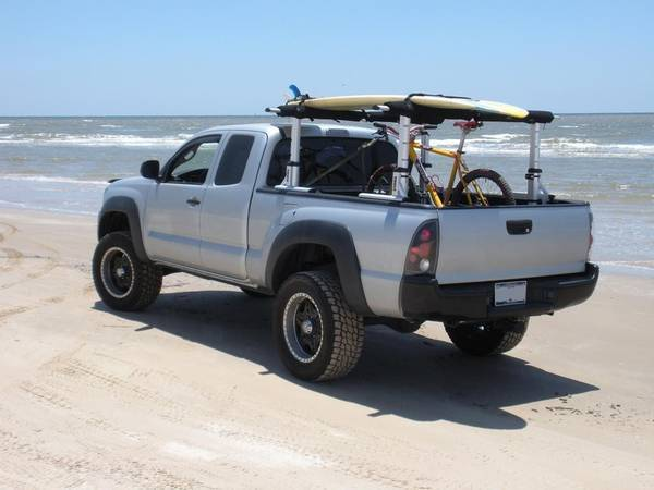 Transporting Sup In Pickup Truck