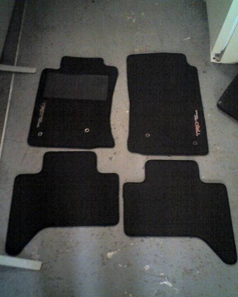 TRD Floor Mats for Sale