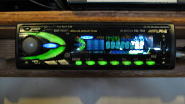 Alpine - 7863 is my stereo ok? or just is it the faceplate. I seen 1  faceplate on ebay for around 25.00.