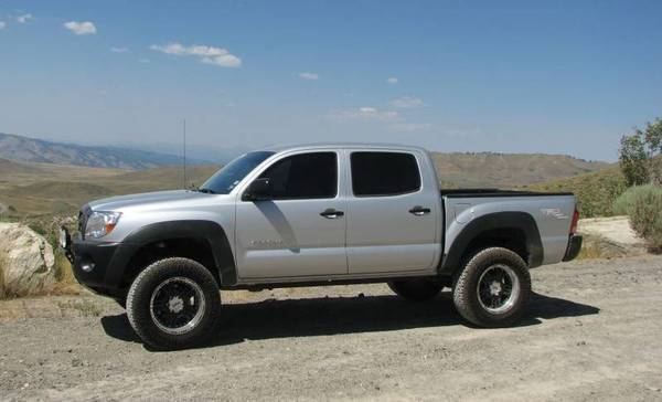 The Black Fender Flares And Bumpers Tacoma World
