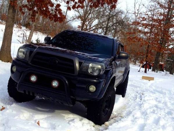 06 Tacoma in the Snow
