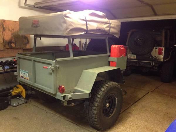 JeepAndrew's Jetski Trailer-to-Offroad RTT Hauler Build