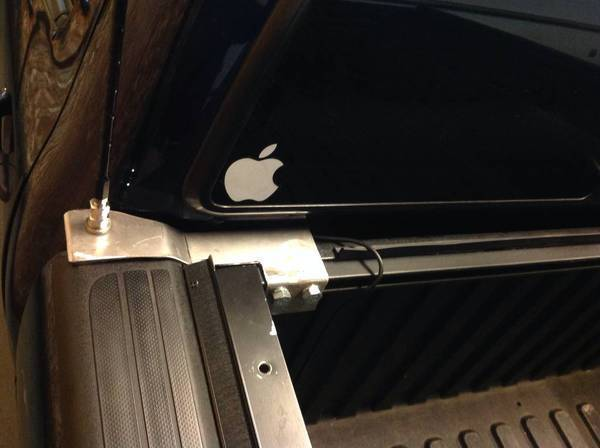 Cb Antenna Mount With Tonneau Cover Tacoma World Forums