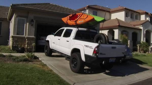 Custom Kayak Rack Tacoma World