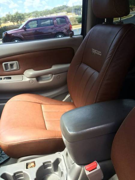 Katzkin leather for your tacoma page 8 tacoma world forums for Texas leather interiors prices