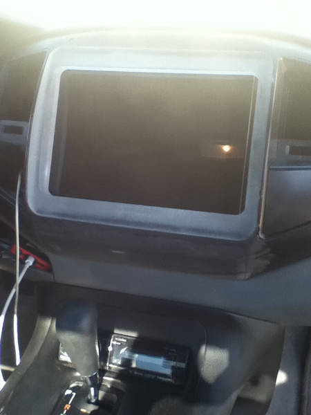 iPad in dash reg cab