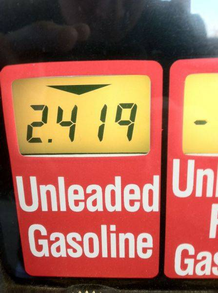 �Safeway gas with discount FTW!