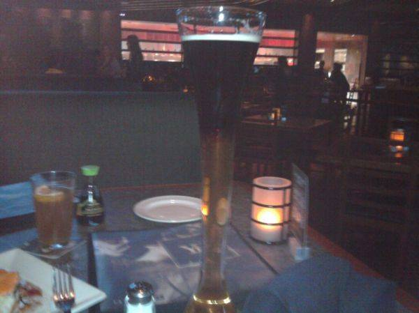 Half yard black and blue. Love yard house :D