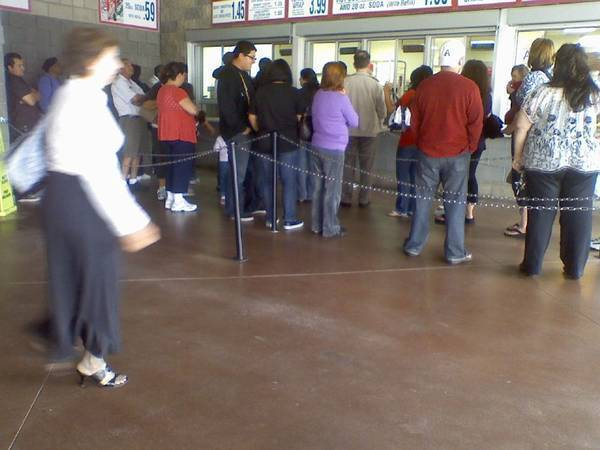 is this line worth it for a hotdog? :[ costco and its greatness....