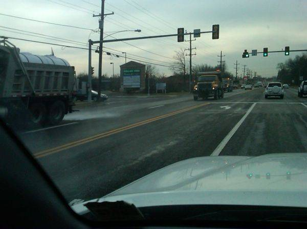 PA DOT covering every road with brine.....Greeeeeaaaat. Thanks for the salt