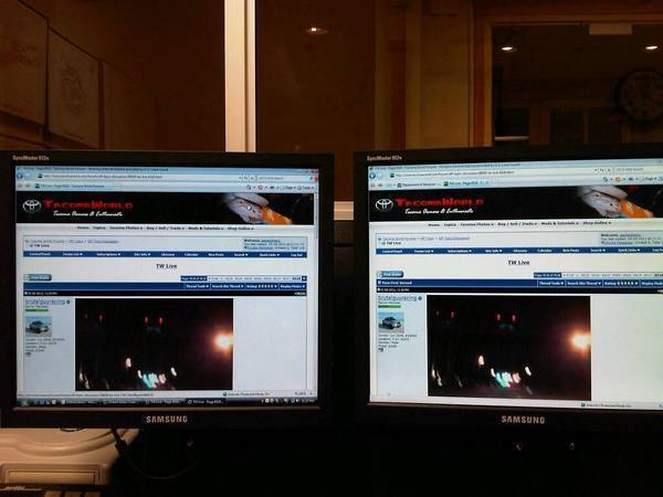Twice the TW fun....at work! Haha