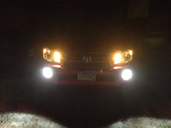 Installed my fog lights last night!