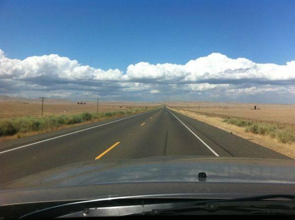 Open road.�