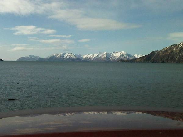 Kodiak road trip. About the only thing I'm gonna miss about this place