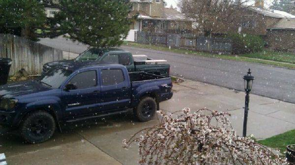 Snow in SLC again =/